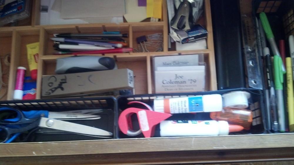 clean office supplies