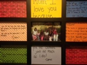 Mom School Framed Messages