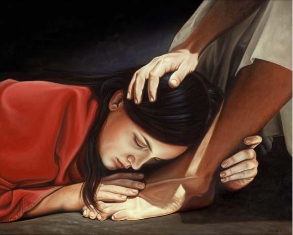 Mary-at-Jesus-Feet