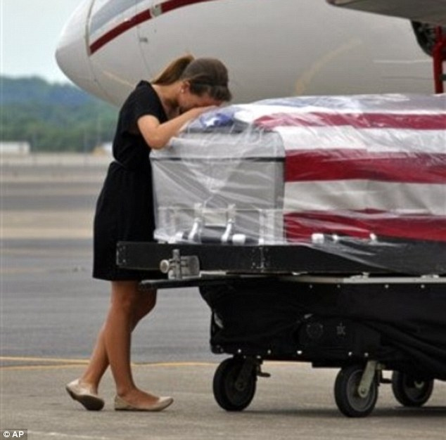 Grieving army wife 3