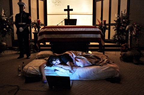 Grieving army wife 6