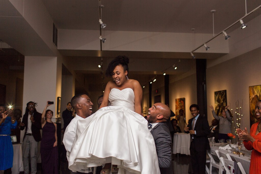 Wedding Andrea on Chair
