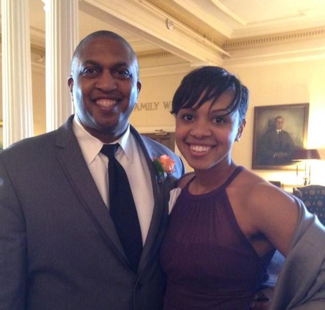 Kellye and Joe at Andrea's wedding (2)