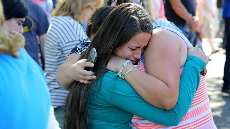 Oregon shooting grief
