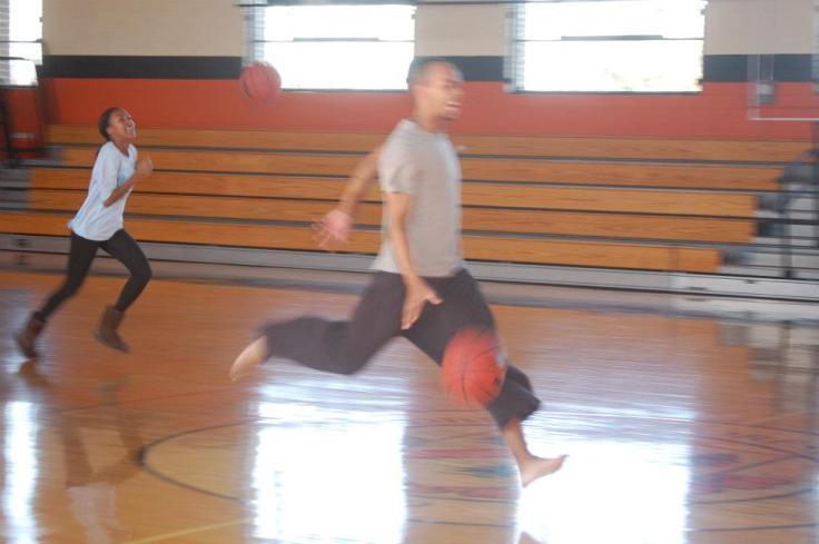 Holiday basketball