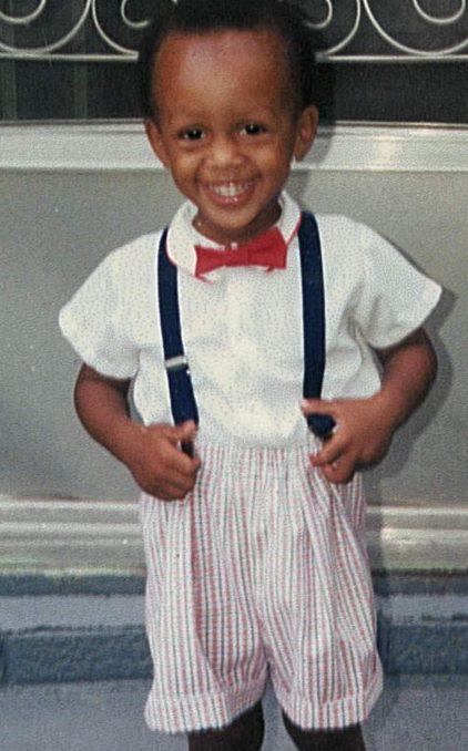 Michael with Suspenders