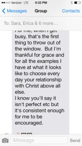 Michaels' Text 2