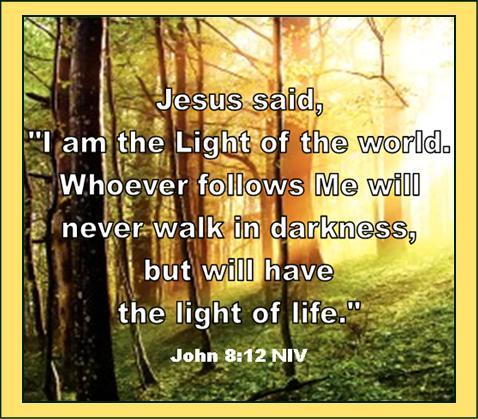 Jesus the Light John 8.12
