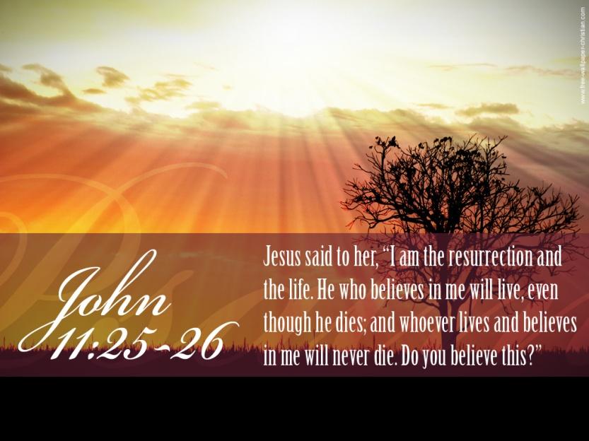 Jesus the resurrection