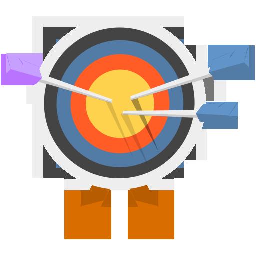Arrow-Bulls-Eye-icon
