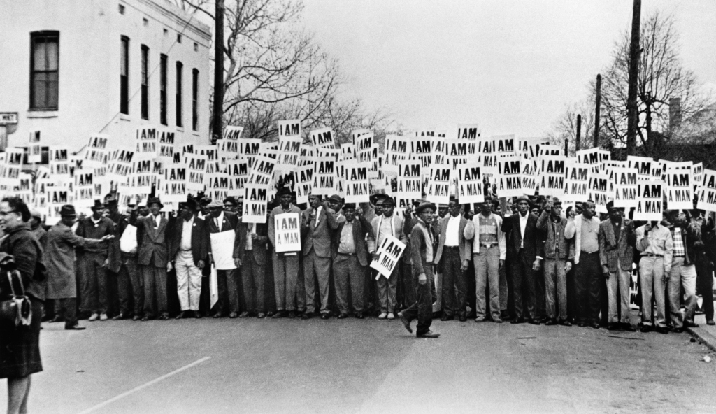 Sanitation workers strike, Memphis, TN 1968